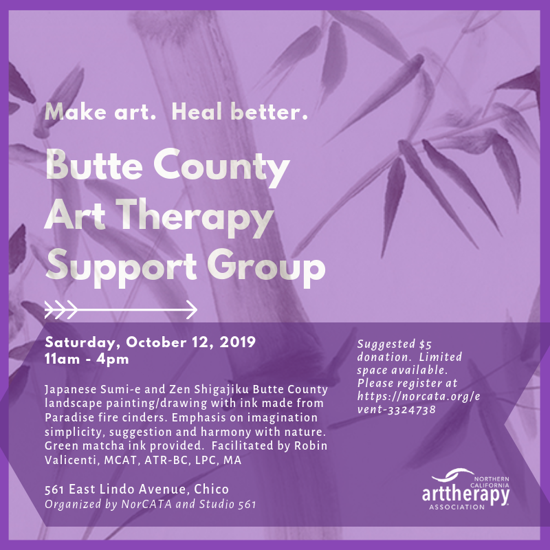 NORCATA - Butte County Art Therapy Support Group